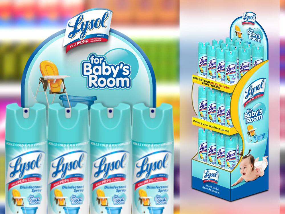 TWM Portfolio Lysol Babys Room FSU with Model