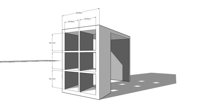 Though Wagon Office Renovation 01B