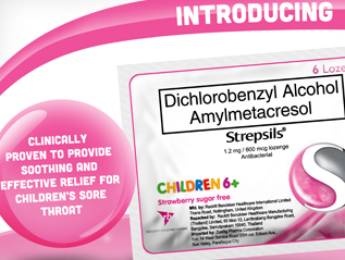 Strepsils Children's Trade Detailer
